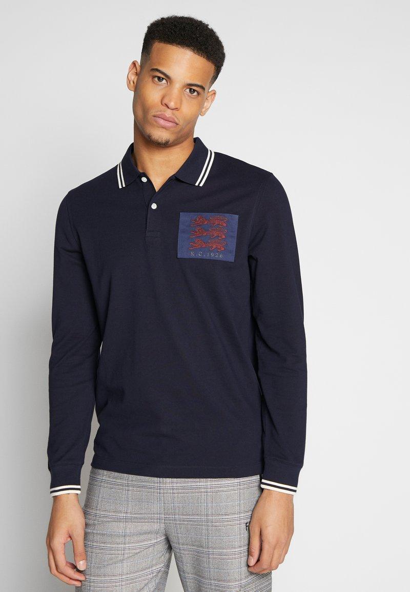 Kent & Curwen - BAILEY LIONS - Polo shirt - deep blue