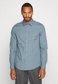 Pier One - Formální košile - stone blue - 0