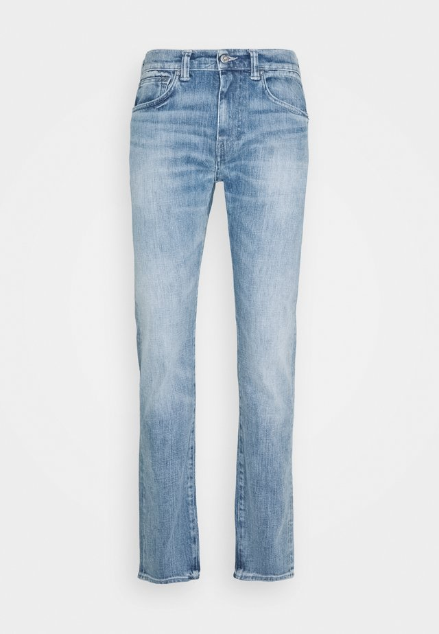 ED-80 SLIM TAPERED - Straight leg jeans - blue denim
