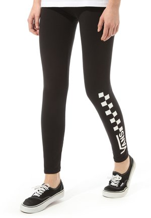 WM CHALKBOARD CLASSIC - Leggings - black
