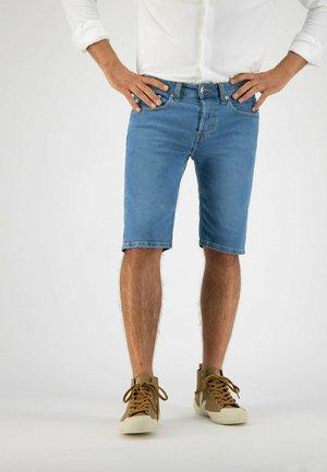 Denim shorts - pure blue