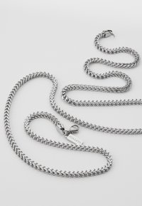 Nialaya - SQUARED CHAIN - Collana - silver-coloured - 3