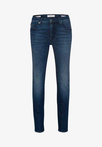 STYLE CHRIS - Slim fit jeans - steel blue used