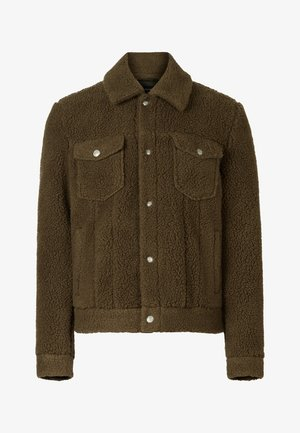 BEVIN - Winter jacket - green