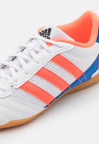 adidas Performance - SUPER SALA - Indoor football boots - footwear white/signal coral/glow blue - 5