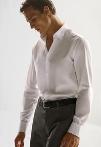Massimo Dutti - SLIM-FIT - Formal shirt - white - 4
