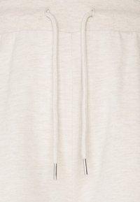 Even&Odd - WID LEG JOGGERS - Tracksuit bottoms - mottled beige - 2