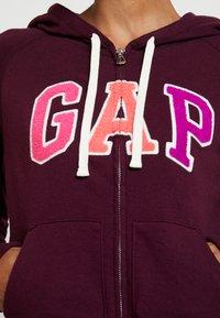 GAP - Zip-up hoodie - secret plum - 3