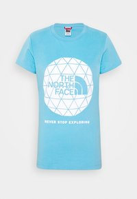 The North Face - GEODOME TEE - Print T-shirt - ethereal blue - 3