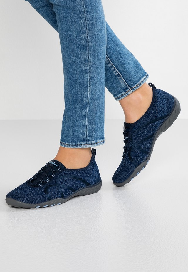 BREATHE EASY FORTUNE WIDE FIT - Mocassins - navy