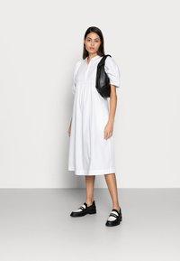 esmé studios - ESFLORA DRESS - Shirt dress - white - 1