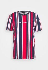 Kings Will Dream - NESTON STRIPE TEE - Print T-shirt - navy/red/white - 4