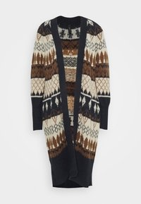 YAS - YASWOYA LONG CARDIGAN - Cardigan - night sky - 0