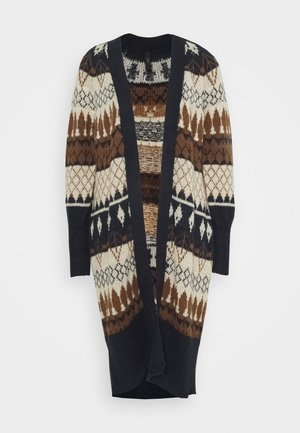 YASWOYA LONG CARDIGAN - Cardigan - night sky