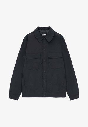 Allvädersjacka - mottled black