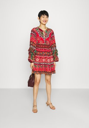 TROPICAL SHINE MINI DRESS - Day dress - multi