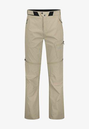 """ROTORUA ZIPP OFF"" - Trousers - beige"