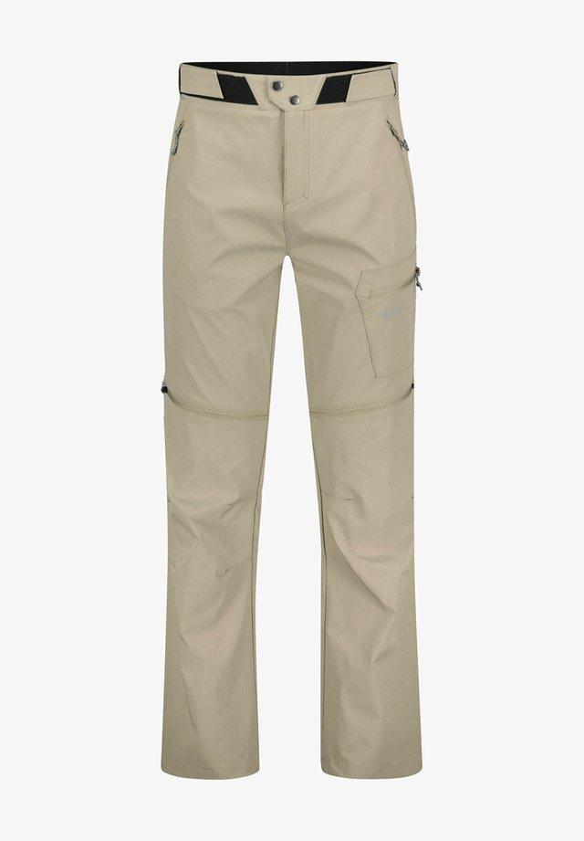 """ROTORUA ZIPP OFF"" - Pantalon classique - beige"