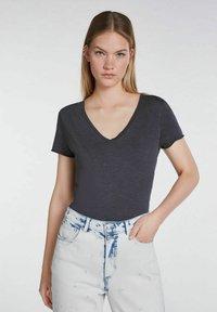 SET - Basic T-shirt - phantom - 0