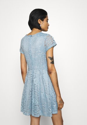 AVERI SKATER DRESS - Juhlamekko - dusty blue grey