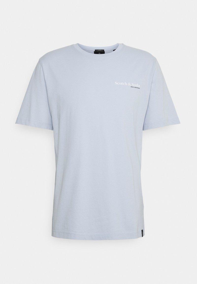 Scotch & Soda - TEE UNISEX - Basic T-shirt - blue