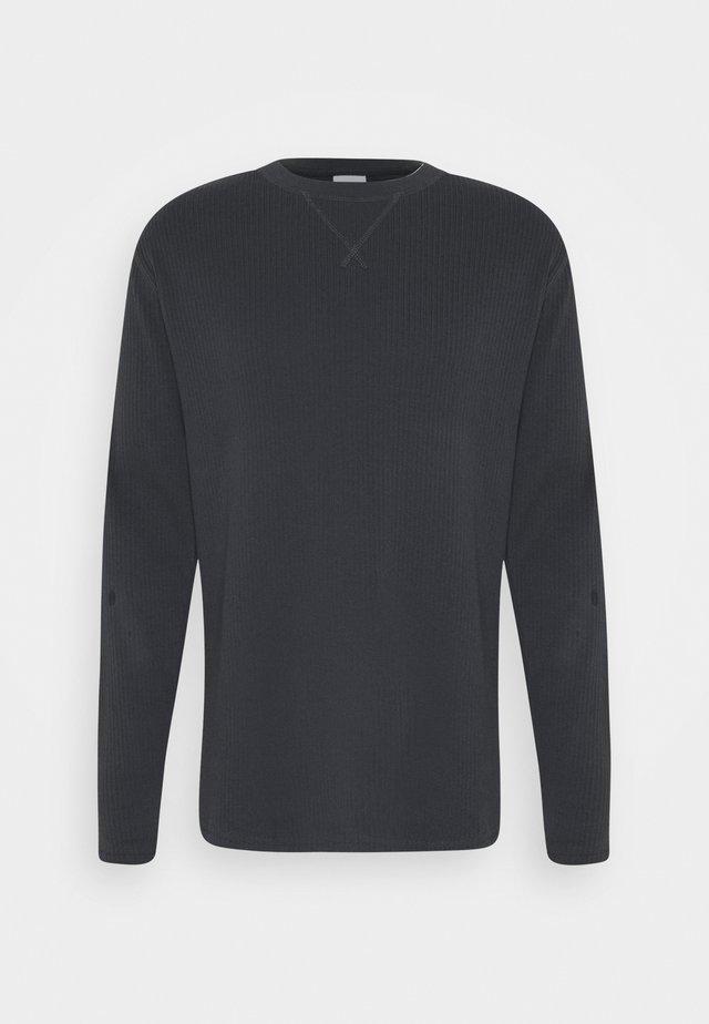 JASPER - T-shirt à manches longues - charcoal