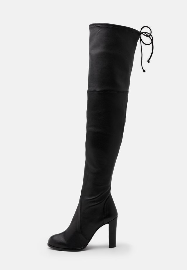 HIGHLAND - High heeled boots - black