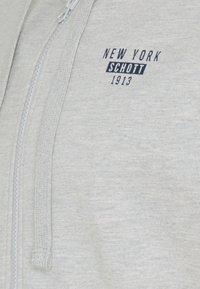 Schott - Zip-up hoodie - heather grey - 6