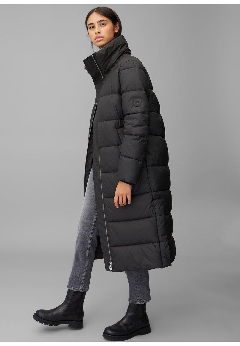 Marc O'Polo DENIM - LONG PUFFER COAT - Winter jacket - black