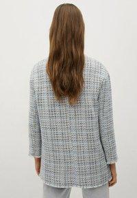 Mango - MIT TASCHEN - Summer jacket - himmelblau - 2