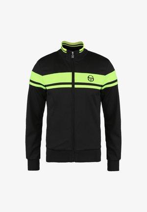 DAMARINDO - Training jacket - black / yellow fluo