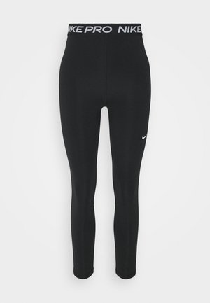 365 7/8 HI RISE - Leggings - black/white