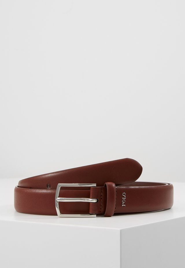 DRESS SMOOTH  - Belt - brown