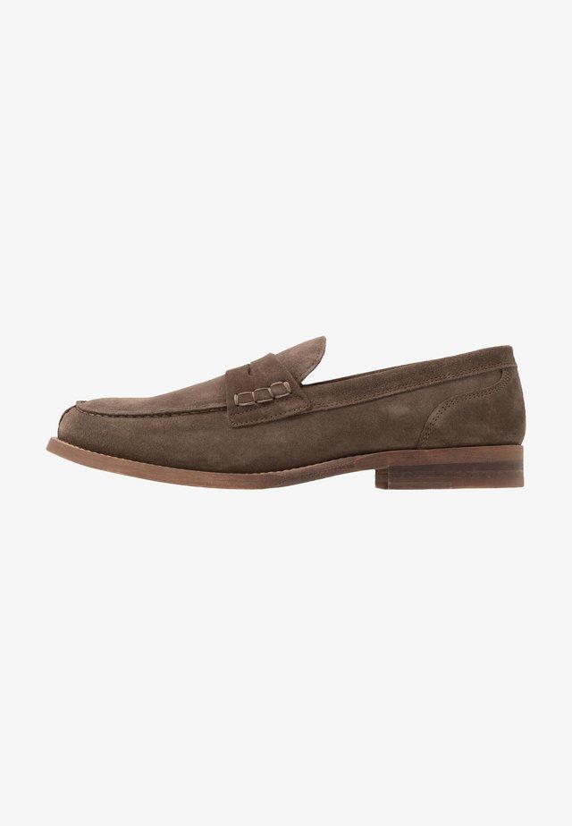 LOAFER - Nazouvací boty - brown