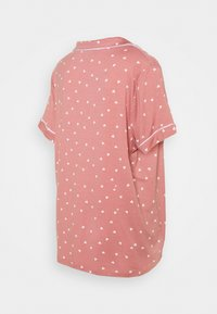 Missguided Maternity - PIPED SHIRT NIGHT - Pyžamo - rose - 2