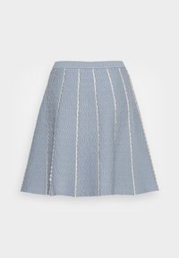 sandro - Mini skirt - bleu ciel - 1