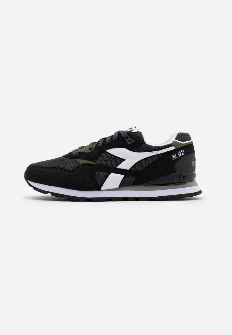 Diadora - N.92 - Sneakersy niskie - black phantom