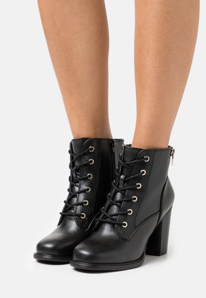 BIMNI - Lace-up ankle boots - black