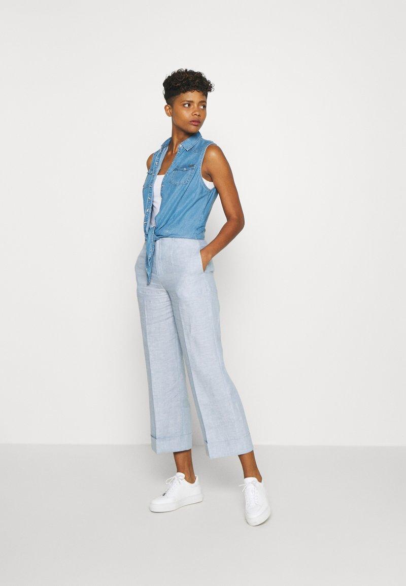 Pepe Jeans ALI - Stoffhose - blue/blau r3eyuH