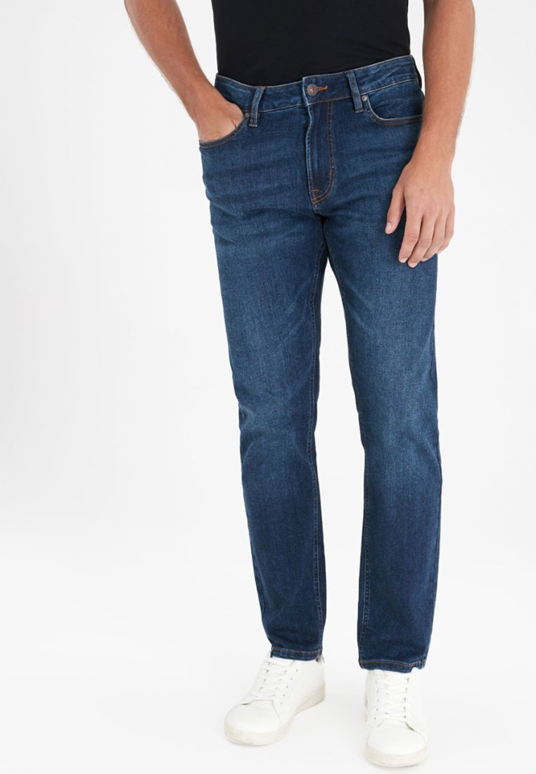Next - ULTRA FLEX - Slim fit jeans - blue