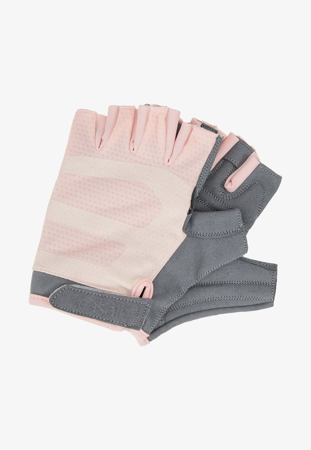 EXERCISE GLOVE - Torghandskar - lucky pink/grey