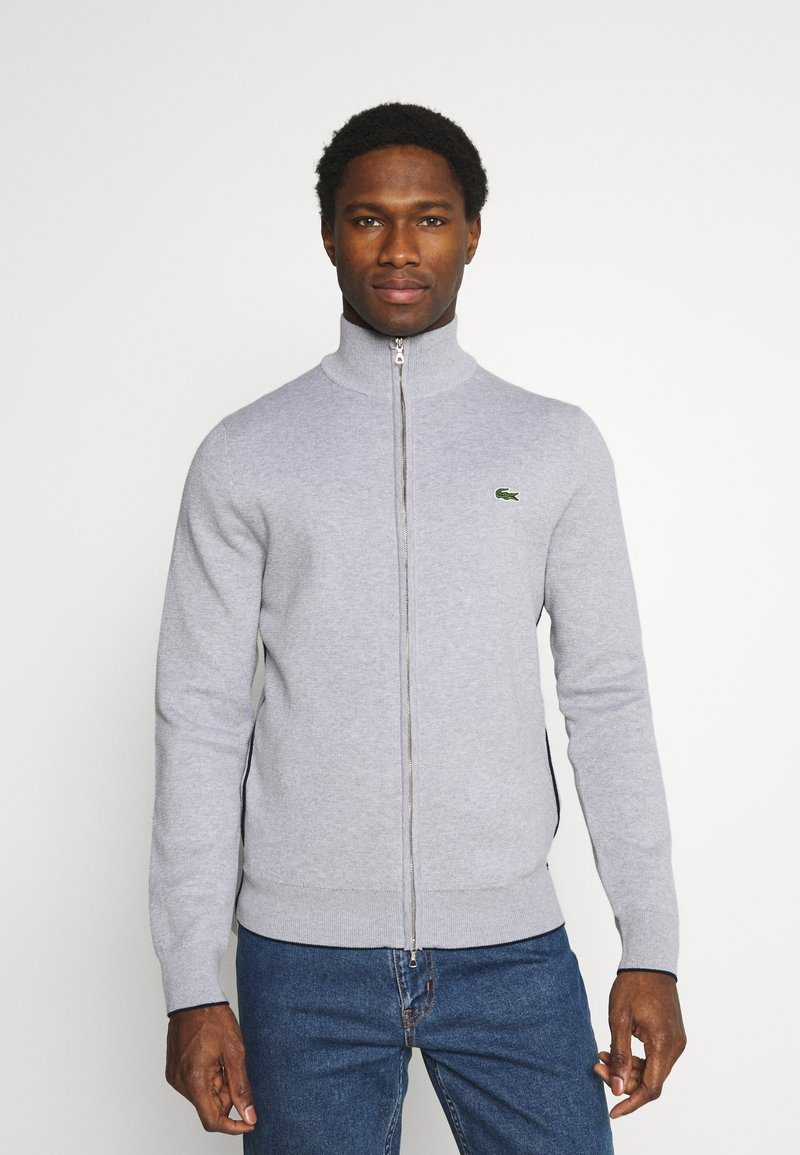Lacoste - Cardigan - silver chine