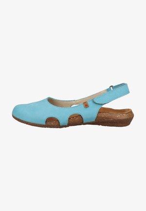 Sandały - turquesa