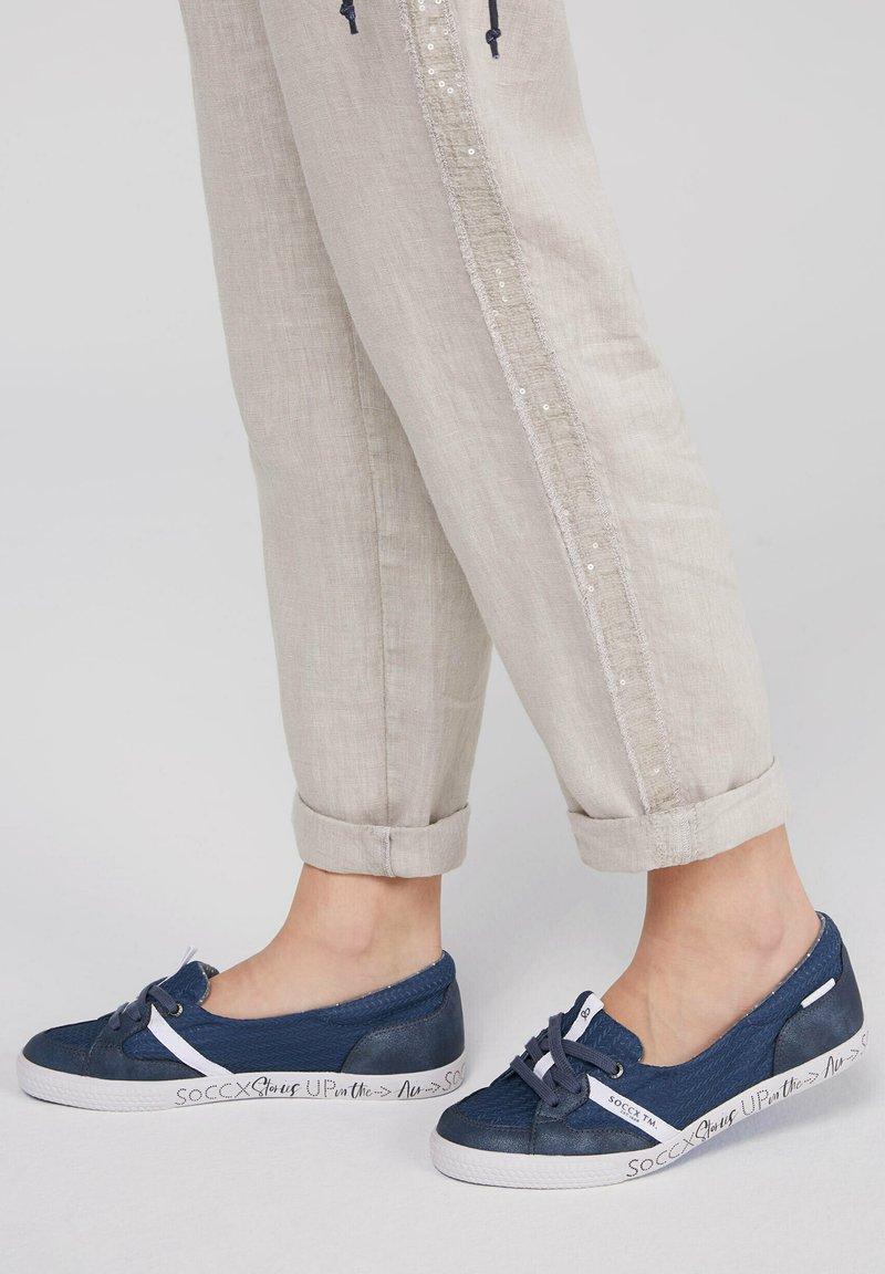 Soccx - Ballet pumps - blue navy
