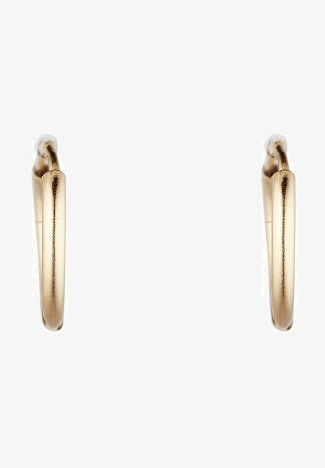 Boucles d'oreilles - jaune or