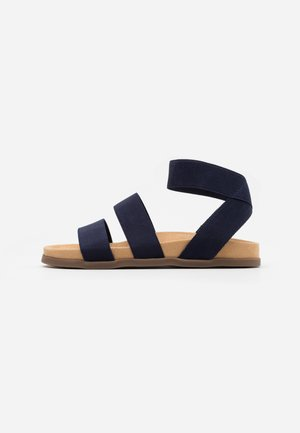 WIDE FIT HILLY - Sandály - navy