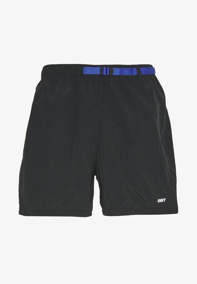 EASY RELAXED TREK  - Shorts - black