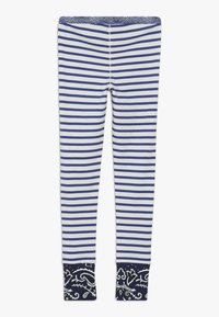 Scotch & Soda - SPECIAL MIX - Leggings - Trousers - blue/white - 1