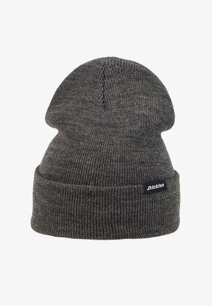 ALASKA BEANIE HAT - Bonnet - dark grey melange