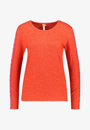 WLS CLAUDIA ROUND - Long sleeved top - orange